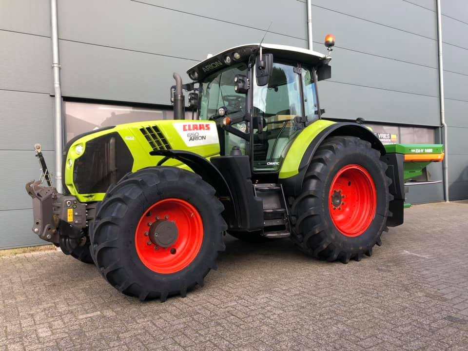 Afgeleverd, CLAAS ARION 650 CMATIC